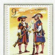 Sellos: UNIFORMES MILITARES. 1974. EDIFIL 2171.. Lote 55798981
