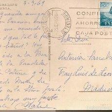 Sellos: ESPANA & BILHETE POSTAL, CANDELARIA, BASÍLICA, SANTA CRUZ DE TENERIFE, MADRID 1969 (41) . Lote 56829954
