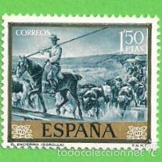 Sellos: EDIFIL 1571. JOAQUÍN SOROLLA - ''EL ENCIERRO''. (1964). NUEVO SIN GOMA.. Lote 56925435