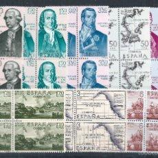 Sellos: R9.BLOCK02/ ESPAÑA EN NUEVO** 1967, EDF. 1819/26, FORJADORES DE AMERICA. Lote 57037298