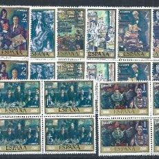 Sellos: R9.BLOCK02/ ESPAÑA EN NUEVO** 1972, EDF. 2077/84, CAT. 17,20€, SOLANA. Lote 57045046