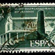 Sellos: ESPAÑA 1956- EDI 1199 (SERIE: JEFATURA DEL ESTADO) USADOS. Lote 57531139