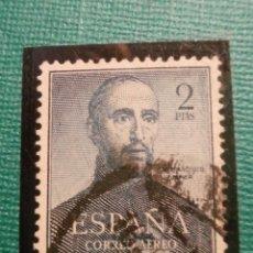 Sellos: SELLO - ESPAÑA - EDIFIL 1118 - 2 PTS - PESETAS - AZUL - 1952 - CENTENARIO MUERTE SAN FRANCISCO . Lote 58454482