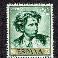 Sellos: MARIANO FORTUNY MARSAL. 1968. EDIFIL 1858. ÓXIDO.. Lote 58552786