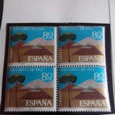 SELLO ESPAÑA 1964. EDIFIL 1581. PAZ ESPAÑOLA. BLOQUE 4 NUEVO