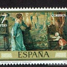 Sellos: EDUARDO ROSALES Y MARTÍN. 1974. EDIFIL 2208. ÓXIDO (73). Lote 60694655