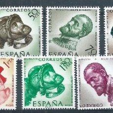Sellos: BLOCK01/ ESPAÑA EN NUEVO** 1958, EDF. 1224/31, CAT. 4,25€, IV Cº MUERTE DE CARLOS I Y V DE ALEMANIA. Lote 111942875