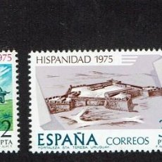 Sellos: HISPANIDAD. URUGUAY. 1975. EDIFIL 2294-2296. ÓXIDO. (INCOMPLETA) (80). Lote 61140227
