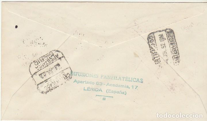 Sellos: PD : 1118 A. IV CENT. DE LA MUERTE DE SAN FRANCISCO JAVIER. 1952 - Foto 2 - 61796076