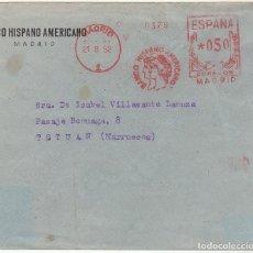 Sellos: FRANQUEO MECÁNICO : MADRID A TETUAN ((BHA) 1952. Lote 61808524