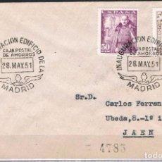 Sellos: 1951.- MADRID A JAÉN. Lote 62990472