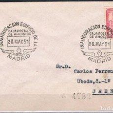 Sellos: 1951.- MADRID A JAÉN. Lote 62992740