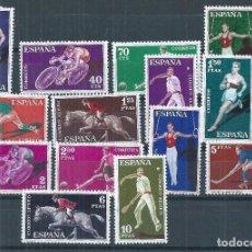 Sellos: R11.G7/ ESPAÑA NUEVOS** 1960, EDF. 1306/19, CAT. 10,65€, DEPORTES. Lote 64284819