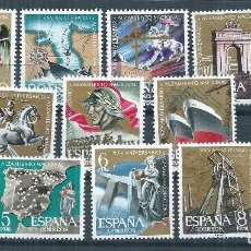 Sellos: R7 / ESPAÑA NUEVOS** 1961, EDF. 1353/64, CAT. 8,50€, XXV ANIV. ALZAMIENTO NACIONAL. Lote 171758814