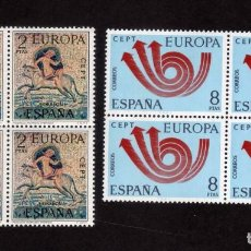 Timbres: ESPAÑA - EUROPA - CEPT 1973 - EDIFIL 2125/2126 BLOQUE DE 4 NUEVO ** MNH. Lote 65920930