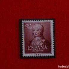 Sellos: EDIFIL 1094 V CENTENARIO ISABEL LA CATÓLICA 1951__MNH**__CON CHARNELA. Lote 65959570