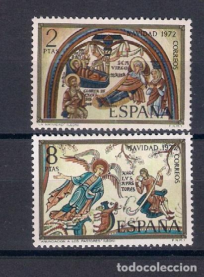 NAVIDAD. ESPAÑA . EMIT. EL 14-11-72 (Sellos - España - II Centenario De 1.950 a 1.975 - Nuevos)