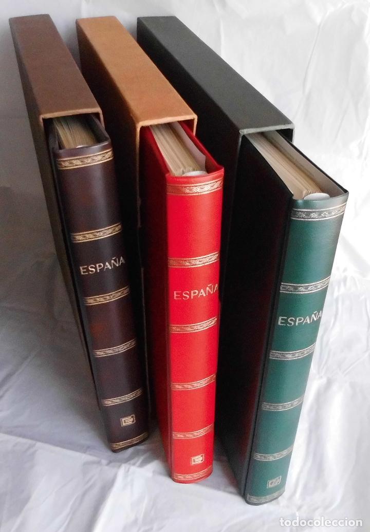 COLECCIÓN ALBUM DE SELLOS ESPAÑA 1965 A 1973, 1974 A 1983 Y 1984 A 1989, NUEVOS SIN FIJASELLOS ** (Sellos - España - II Centenario De 1.950 a 1.975 - Nuevos)
