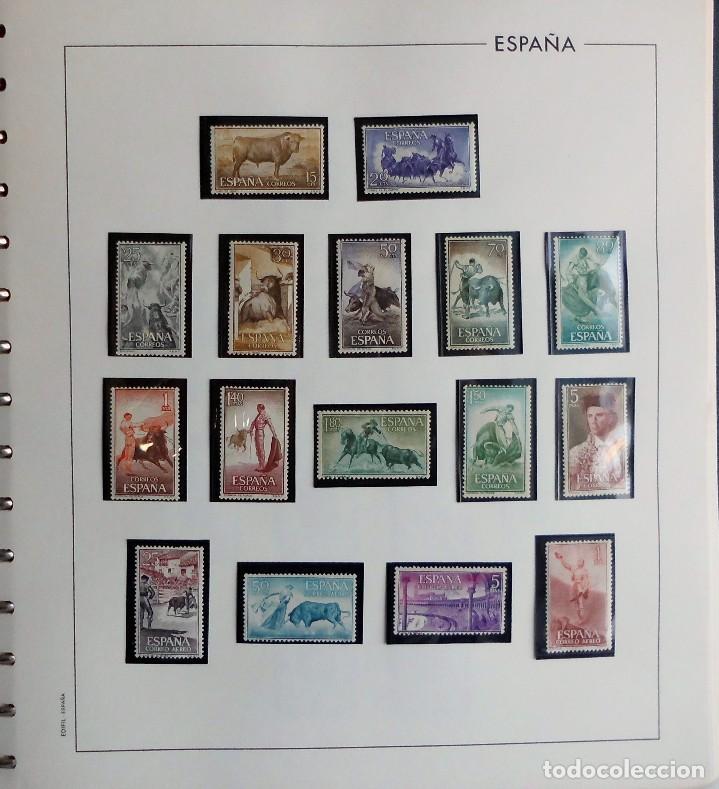 Sellos: COLECCIÓN ALBUM DE SELLOS ESPAÑA 1965 A 1973, 1974 A 1983 y 1984 A 1989, NUEVOS SIN FIJASELLOS ** - Foto 3 - 66903418