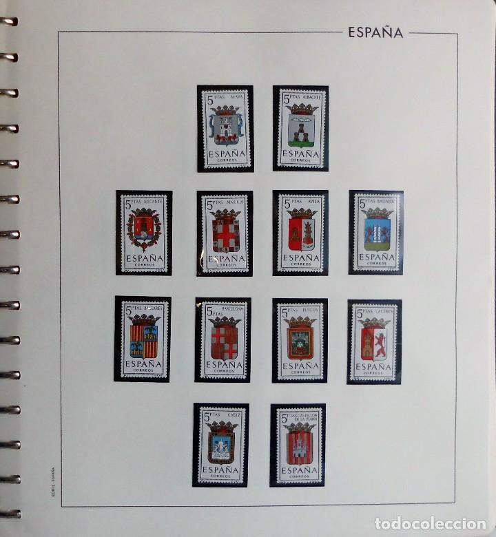 Sellos: COLECCIÓN ALBUM DE SELLOS ESPAÑA 1965 A 1973, 1974 A 1983 y 1984 A 1989, NUEVOS SIN FIJASELLOS ** - Foto 4 - 66903418