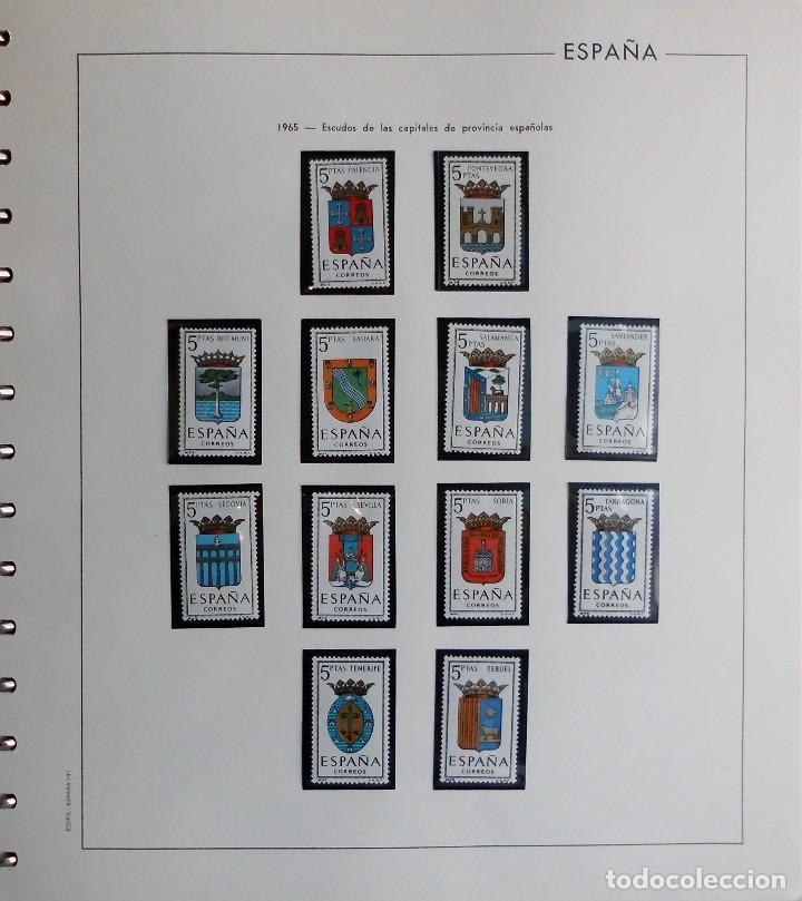 Sellos: COLECCIÓN ALBUM DE SELLOS ESPAÑA 1965 A 1973, 1974 A 1983 y 1984 A 1989, NUEVOS SIN FIJASELLOS ** - Foto 7 - 66903418