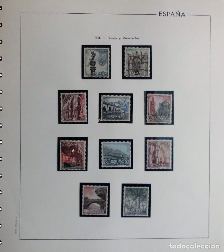 Sellos: COLECCIÓN ALBUM DE SELLOS ESPAÑA 1965 A 1973, 1974 A 1983 y 1984 A 1989, NUEVOS SIN FIJASELLOS ** - Foto 8 - 66903418
