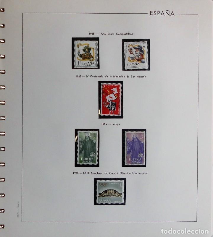 Sellos: COLECCIÓN ALBUM DE SELLOS ESPAÑA 1965 A 1973, 1974 A 1983 y 1984 A 1989, NUEVOS SIN FIJASELLOS ** - Foto 11 - 66903418
