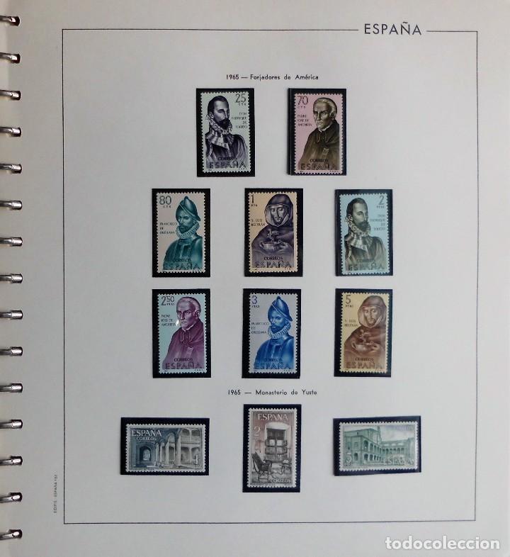 Sellos: COLECCIÓN ALBUM DE SELLOS ESPAÑA 1965 A 1973, 1974 A 1983 y 1984 A 1989, NUEVOS SIN FIJASELLOS ** - Foto 12 - 66903418