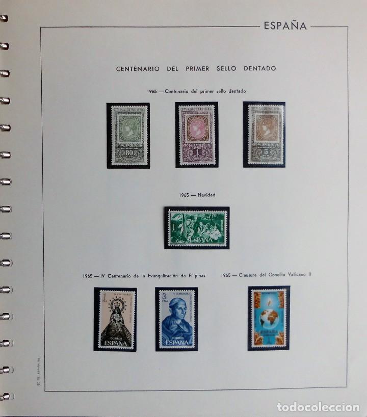 Sellos: COLECCIÓN ALBUM DE SELLOS ESPAÑA 1965 A 1973, 1974 A 1983 y 1984 A 1989, NUEVOS SIN FIJASELLOS ** - Foto 13 - 66903418