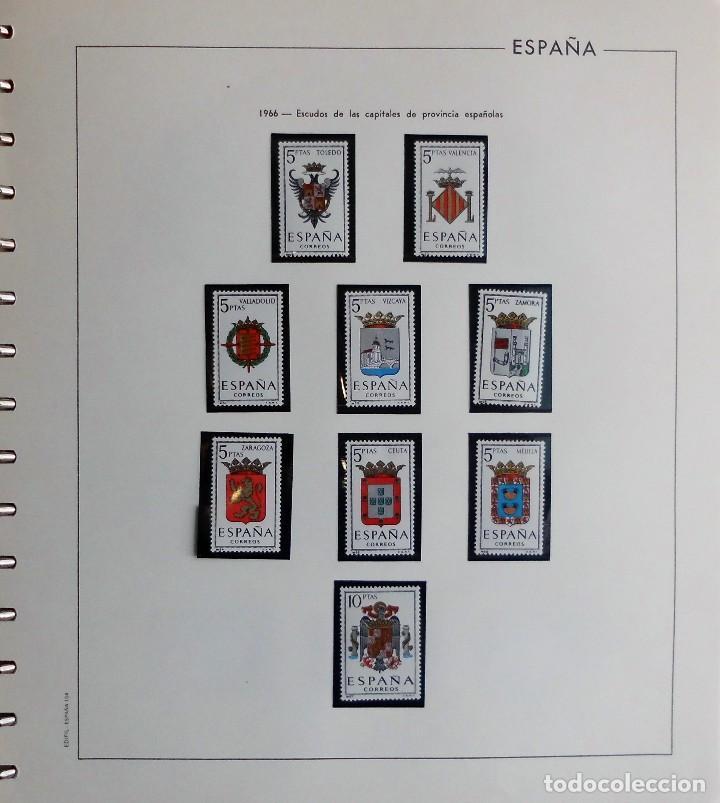 Sellos: COLECCIÓN ALBUM DE SELLOS ESPAÑA 1965 A 1973, 1974 A 1983 y 1984 A 1989, NUEVOS SIN FIJASELLOS ** - Foto 14 - 66903418