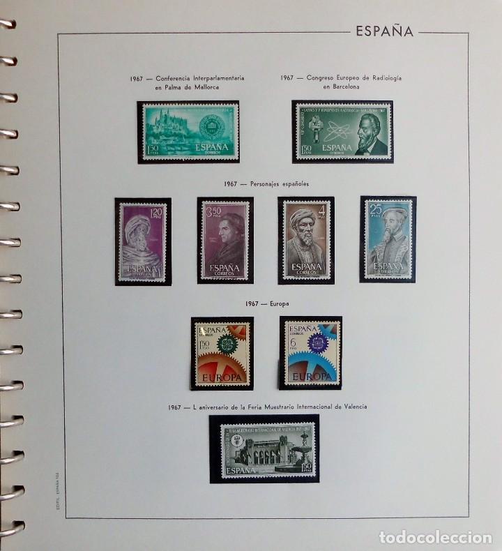 Sellos: COLECCIÓN ALBUM DE SELLOS ESPAÑA 1965 A 1973, 1974 A 1983 y 1984 A 1989, NUEVOS SIN FIJASELLOS ** - Foto 23 - 66903418