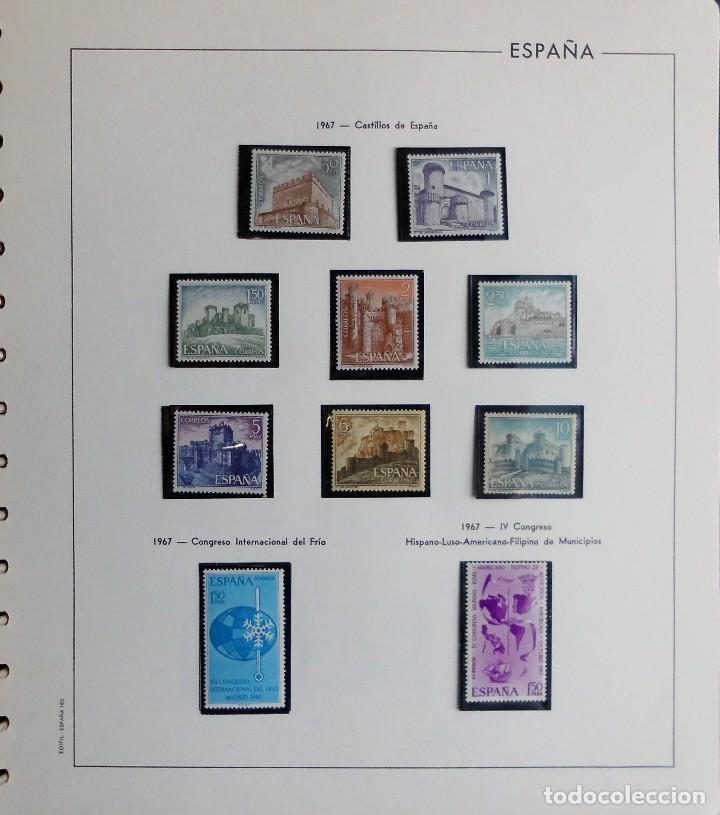 Sellos: COLECCIÓN ALBUM DE SELLOS ESPAÑA 1965 A 1973, 1974 A 1983 y 1984 A 1989, NUEVOS SIN FIJASELLOS ** - Foto 25 - 66903418