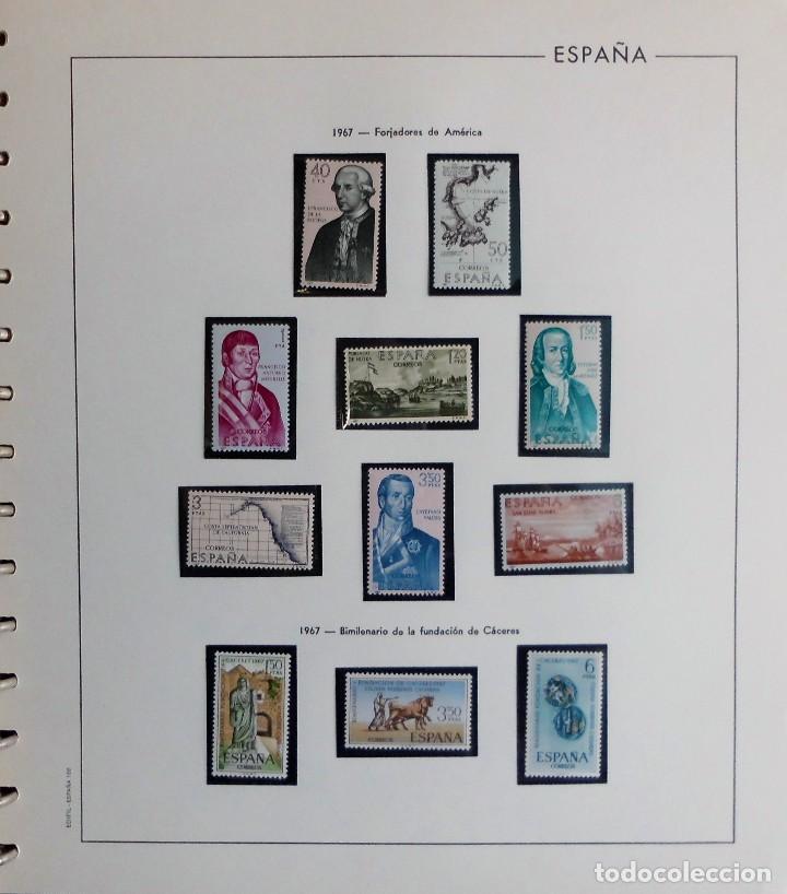 Sellos: COLECCIÓN ALBUM DE SELLOS ESPAÑA 1965 A 1973, 1974 A 1983 y 1984 A 1989, NUEVOS SIN FIJASELLOS ** - Foto 26 - 66903418