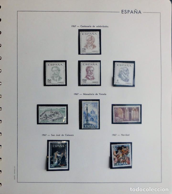 Sellos: COLECCIÓN ALBUM DE SELLOS ESPAÑA 1965 A 1973, 1974 A 1983 y 1984 A 1989, NUEVOS SIN FIJASELLOS ** - Foto 27 - 66903418