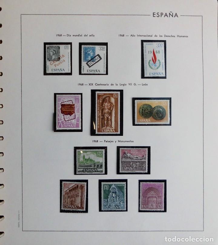 Sellos: COLECCIÓN ALBUM DE SELLOS ESPAÑA 1965 A 1973, 1974 A 1983 y 1984 A 1989, NUEVOS SIN FIJASELLOS ** - Foto 31 - 66903418