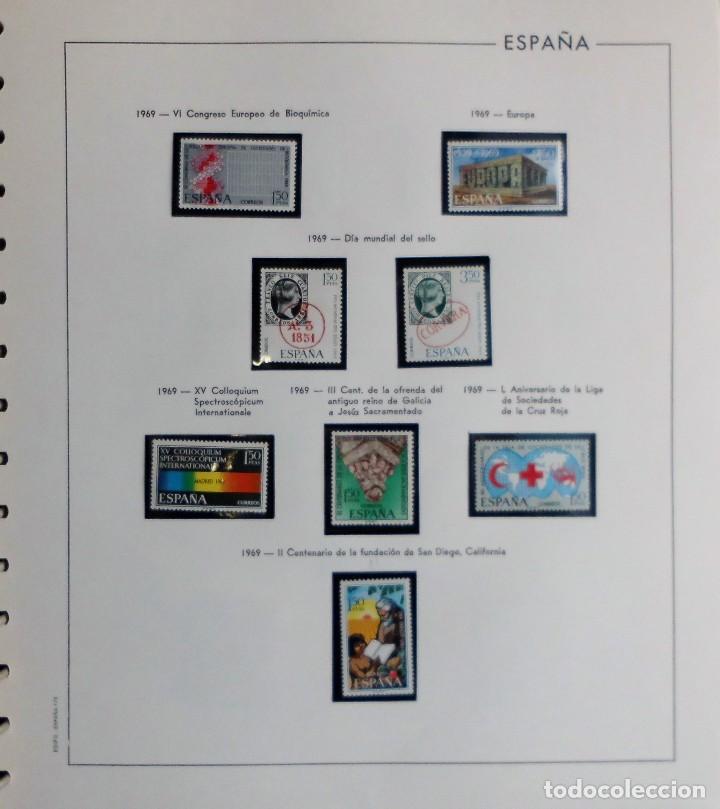 Sellos: COLECCIÓN ALBUM DE SELLOS ESPAÑA 1965 A 1973, 1974 A 1983 y 1984 A 1989, NUEVOS SIN FIJASELLOS ** - Foto 36 - 66903418