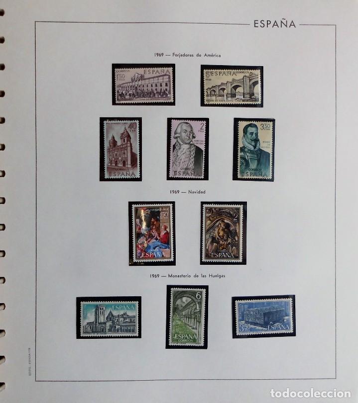 Sellos: COLECCIÓN ALBUM DE SELLOS ESPAÑA 1965 A 1973, 1974 A 1983 y 1984 A 1989, NUEVOS SIN FIJASELLOS ** - Foto 38 - 66903418