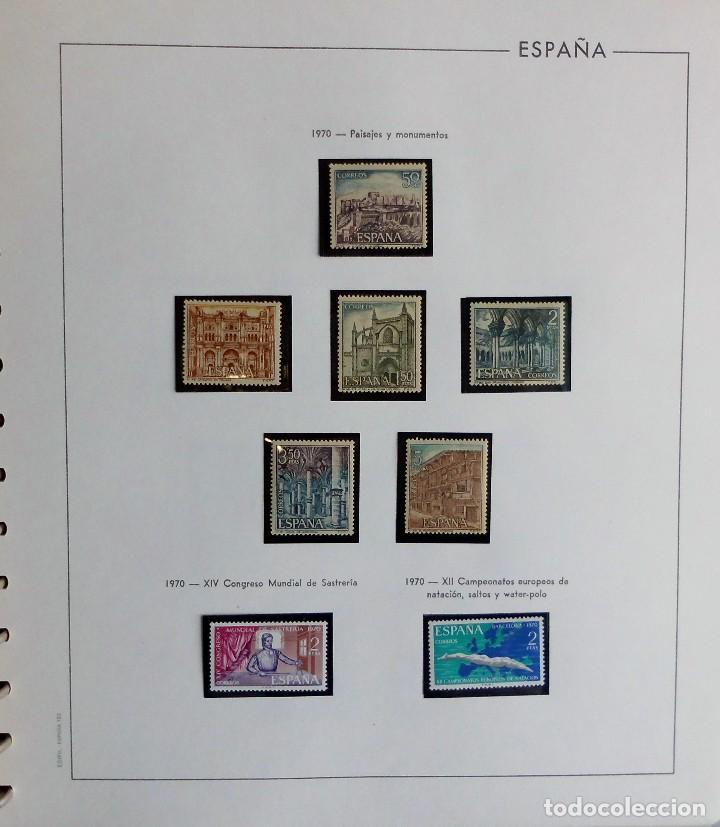 Sellos: COLECCIÓN ALBUM DE SELLOS ESPAÑA 1965 A 1973, 1974 A 1983 y 1984 A 1989, NUEVOS SIN FIJASELLOS ** - Foto 42 - 66903418