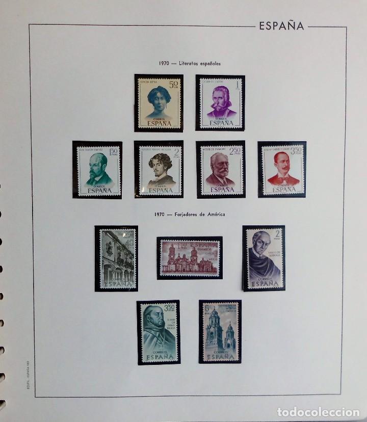Sellos: COLECCIÓN ALBUM DE SELLOS ESPAÑA 1965 A 1973, 1974 A 1983 y 1984 A 1989, NUEVOS SIN FIJASELLOS ** - Foto 43 - 66903418