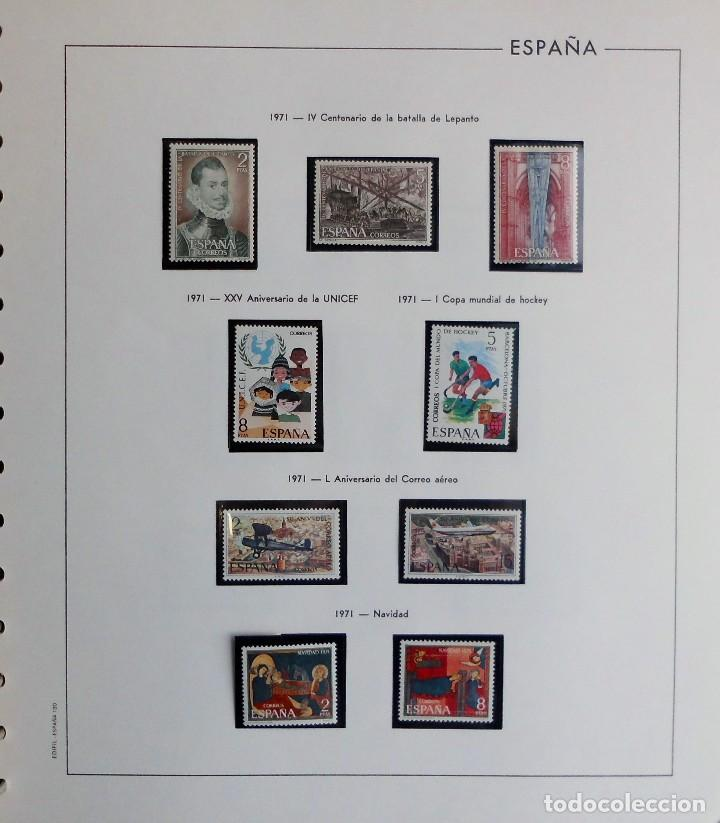 Sellos: COLECCIÓN ALBUM DE SELLOS ESPAÑA 1965 A 1973, 1974 A 1983 y 1984 A 1989, NUEVOS SIN FIJASELLOS ** - Foto 50 - 66903418