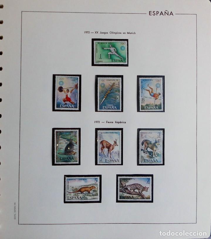 Sellos: COLECCIÓN ALBUM DE SELLOS ESPAÑA 1965 A 1973, 1974 A 1983 y 1984 A 1989, NUEVOS SIN FIJASELLOS ** - Foto 55 - 66903418