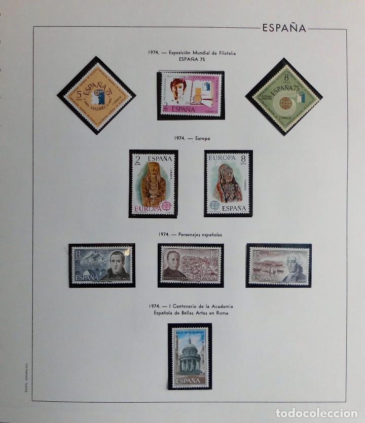 Sellos: COLECCIÓN ALBUM DE SELLOS ESPAÑA 1965 A 1973, 1974 A 1983 y 1984 A 1989, NUEVOS SIN FIJASELLOS ** - Foto 65 - 66903418