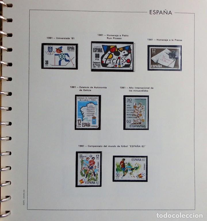 Sellos: COLECCIÓN ALBUM DE SELLOS ESPAÑA 1965 A 1973, 1974 A 1983 y 1984 A 1989, NUEVOS SIN FIJASELLOS ** - Foto 117 - 66903418