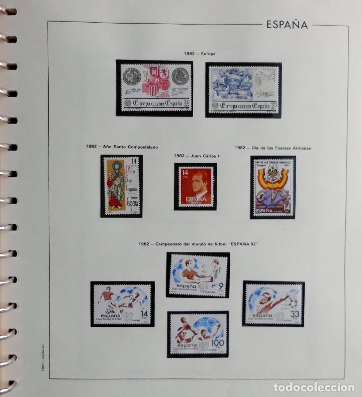 Sellos: COLECCIÓN ALBUM DE SELLOS ESPAÑA 1965 A 1973, 1974 A 1983 y 1984 A 1989, NUEVOS SIN FIJASELLOS ** - Foto 124 - 66903418