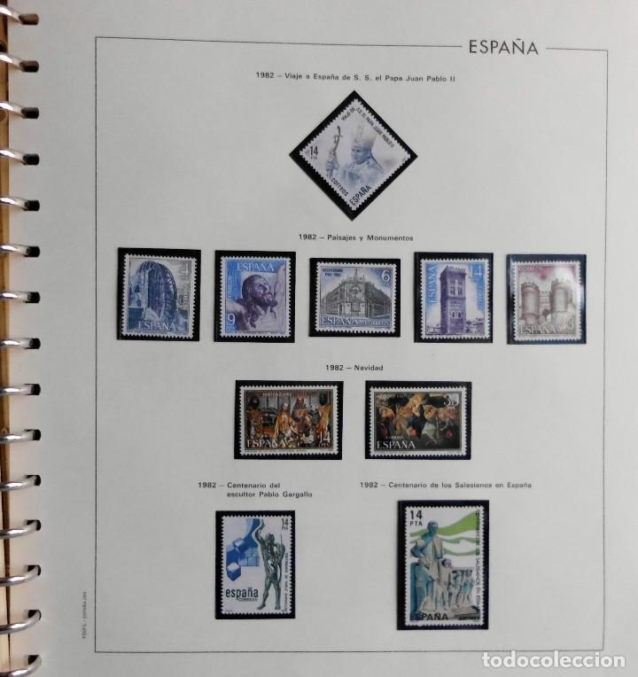 Sellos: COLECCIÓN ALBUM DE SELLOS ESPAÑA 1965 A 1973, 1974 A 1983 y 1984 A 1989, NUEVOS SIN FIJASELLOS ** - Foto 127 - 66903418