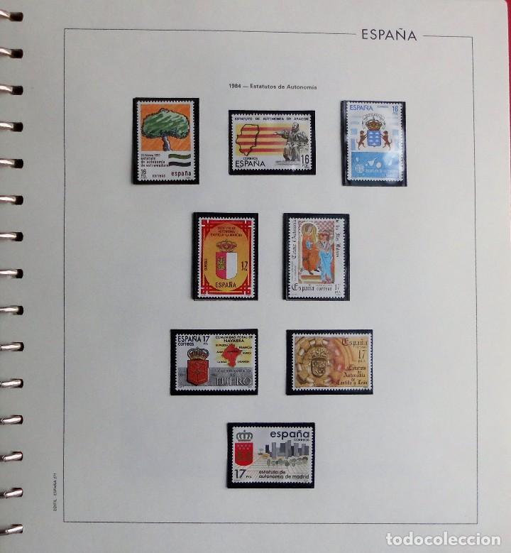 Sellos: COLECCIÓN ALBUM DE SELLOS ESPAÑA 1965 A 1973, 1974 A 1983 y 1984 A 1989, NUEVOS SIN FIJASELLOS ** - Foto 137 - 66903418