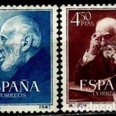 Briefmarken - ESPAÑA 1952- EDI 1119/1120 (Serie: Cajal y Ferran) usados - 57442982