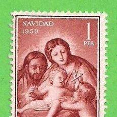 Francobolli: EDIFIL 1253. NAVIDAD - ''LA SAGRADA FAMILIA'', GOYA. (1959).. Lote 67013106