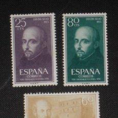 Sellos: USADO - EDIFIL 1166/1168 - SPAIN 1955 /M. Lote 147239826