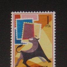 USADO - EDIFIL 1668 - SPAIN 1965 DIA MUNDIAL DEL SELLO /m